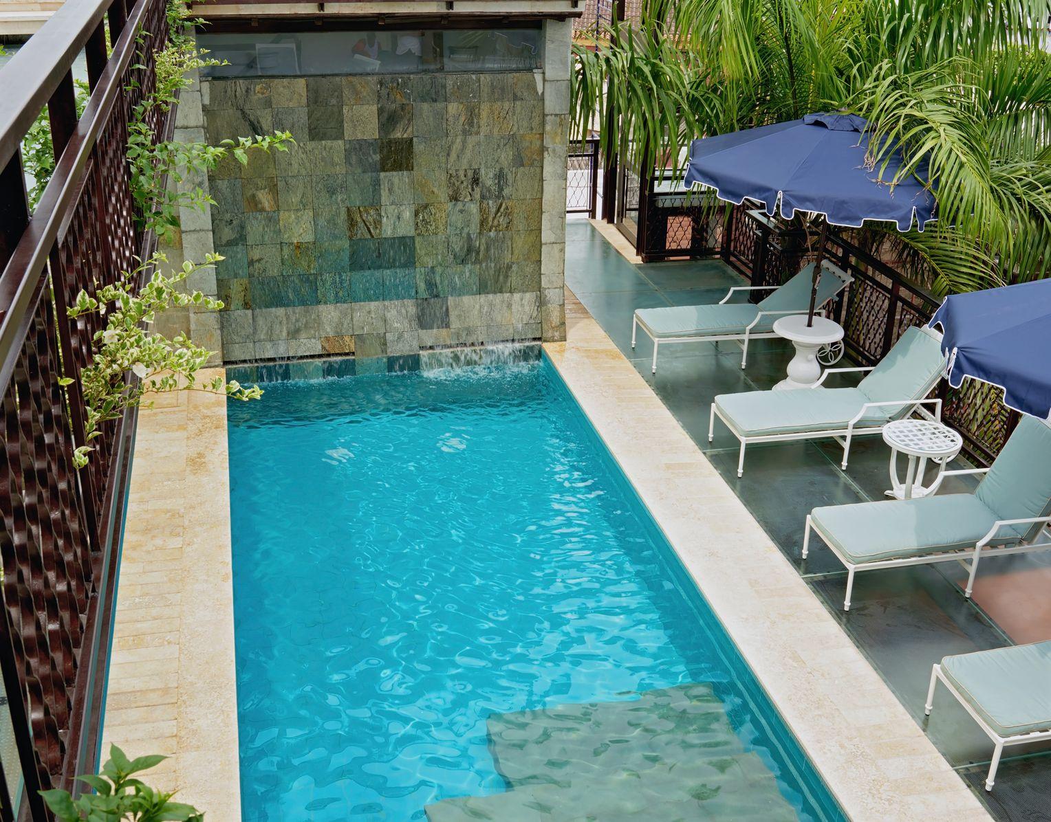 The dreamy pool area.Photo by  Tawfick Espriella .