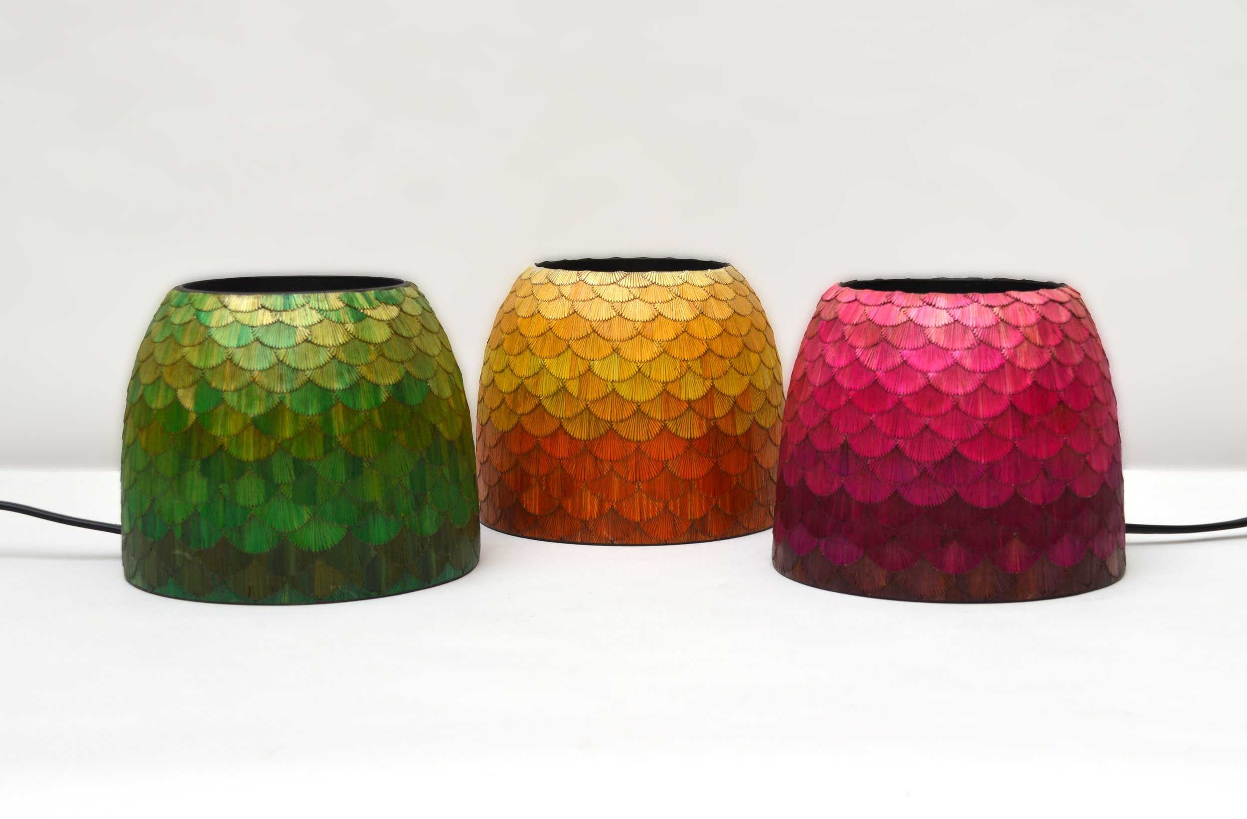 Lamps by Jose Dueñas.