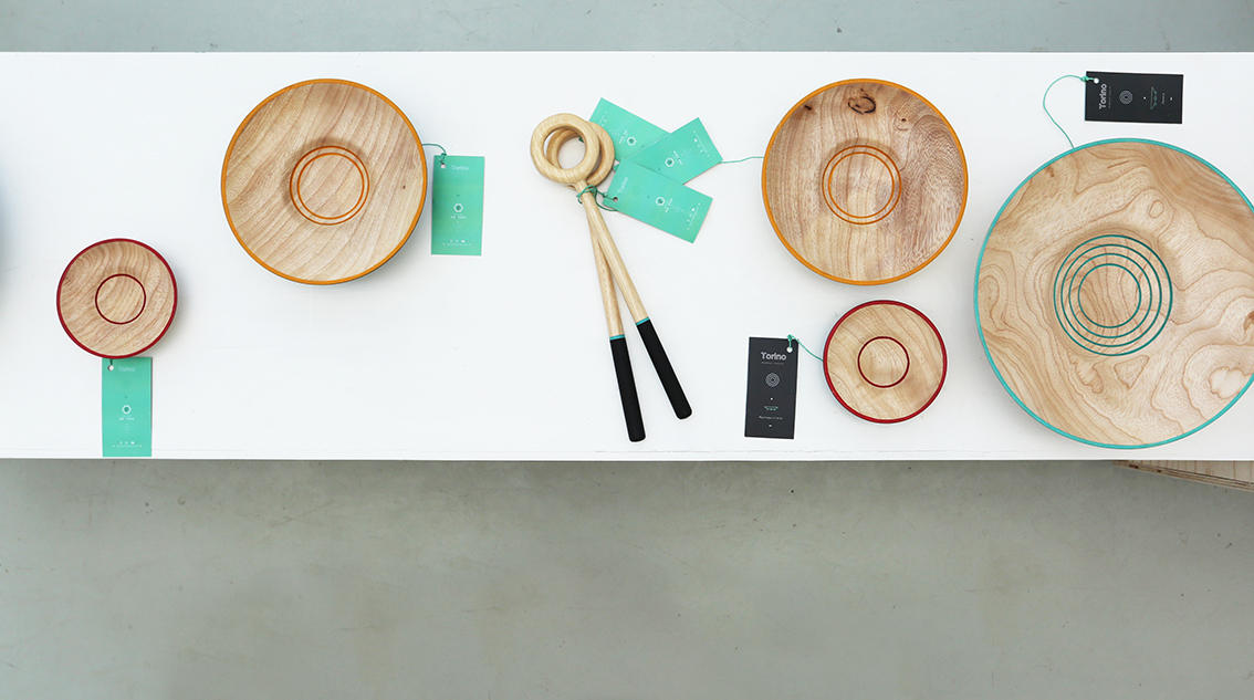 Objects by Estudio Seis Nueve. Photo by Elisa di Marco.