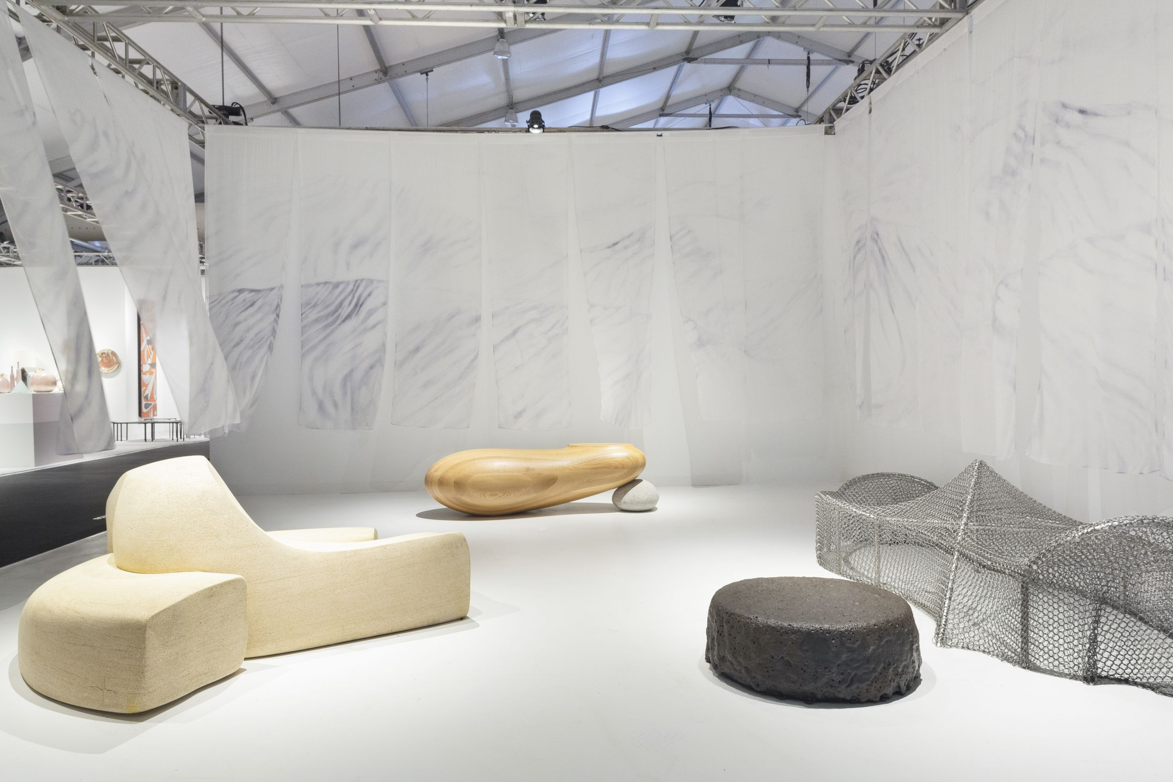 Friedman Benda at Design Miami 2018. Photo courtesy of Friedman Benda.