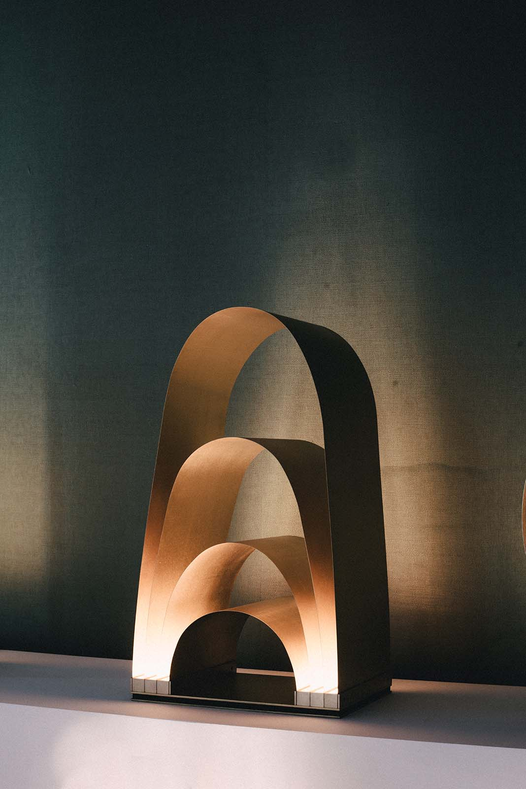 Lamp by Hector Esrawe.