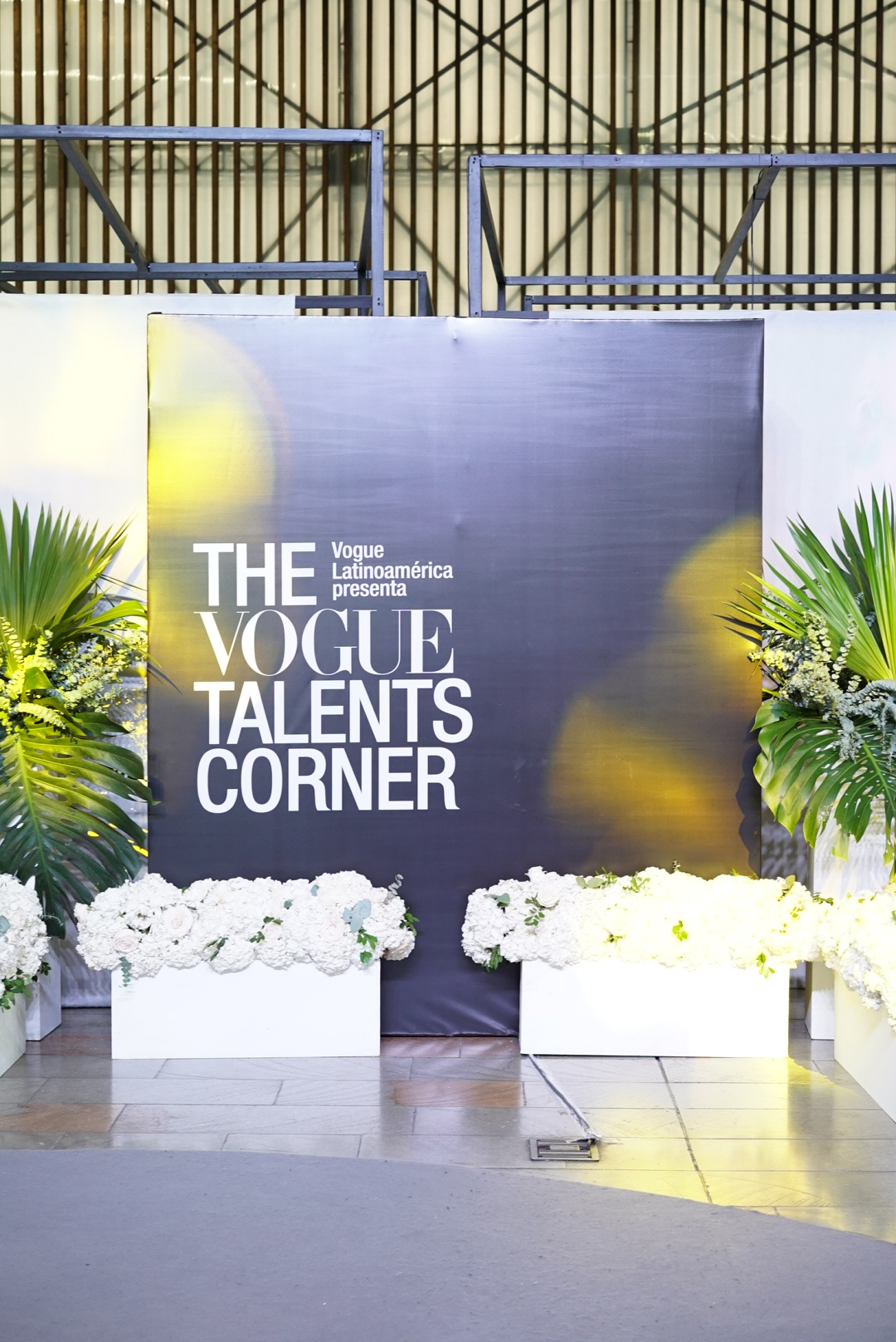 A shot from last year's Vogue Talents Corner.
