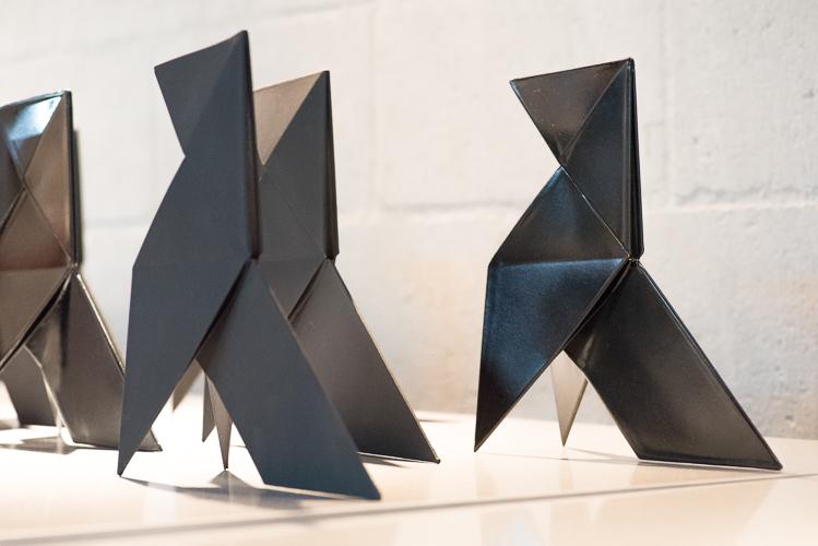 'Pájaro de Origami' - by Folies Artesano