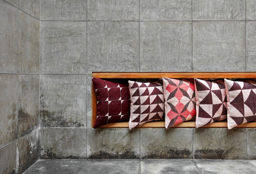 Pillows by Gres.