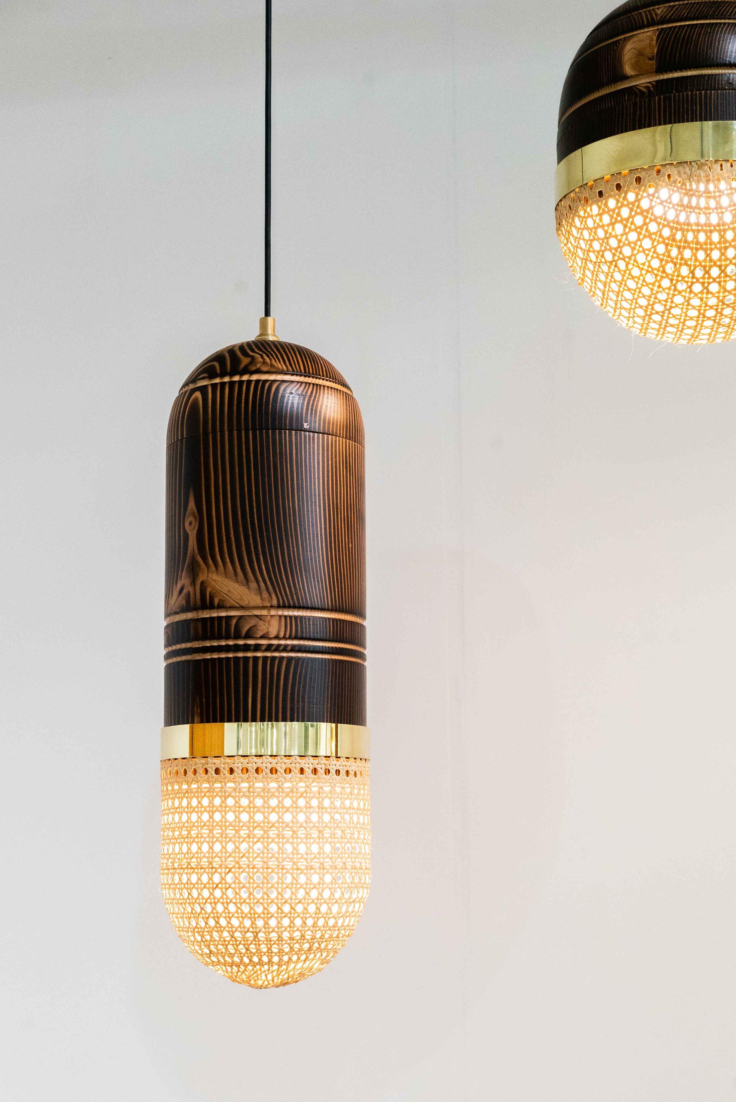 Lamps by Carolina Palombo.