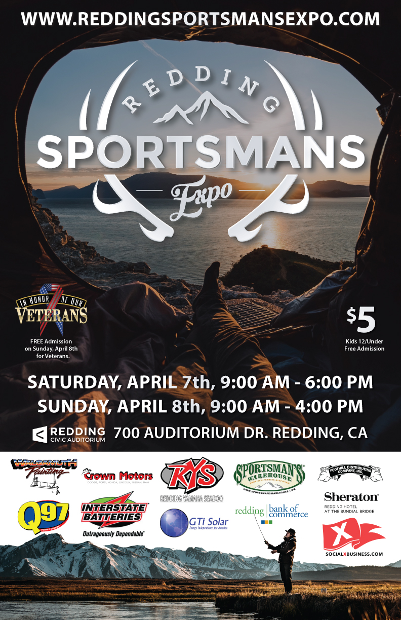Redding Sportsman's Expo Hunting and Fishing Show Northern California