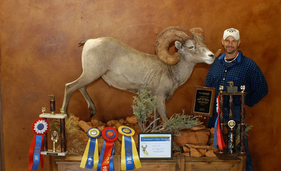 Artistic Wildlife Taxidermy Redding Sportsman's Expo Hunting and Fishing Show