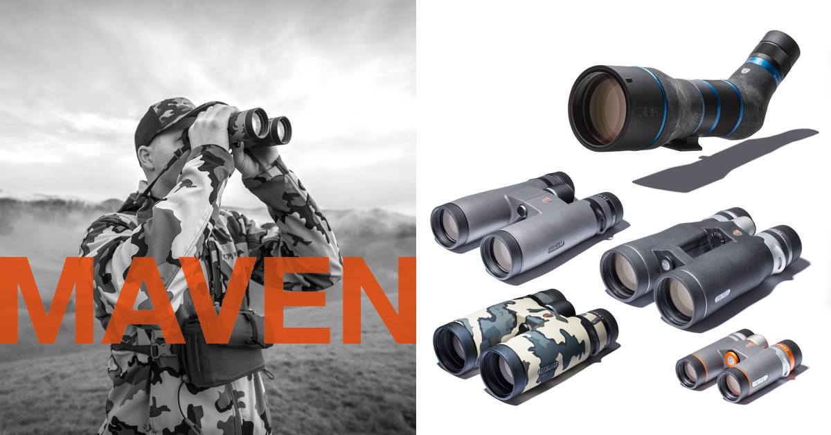 Maven Optics Redding Sportsman's Expo Hunting and Fishing Show