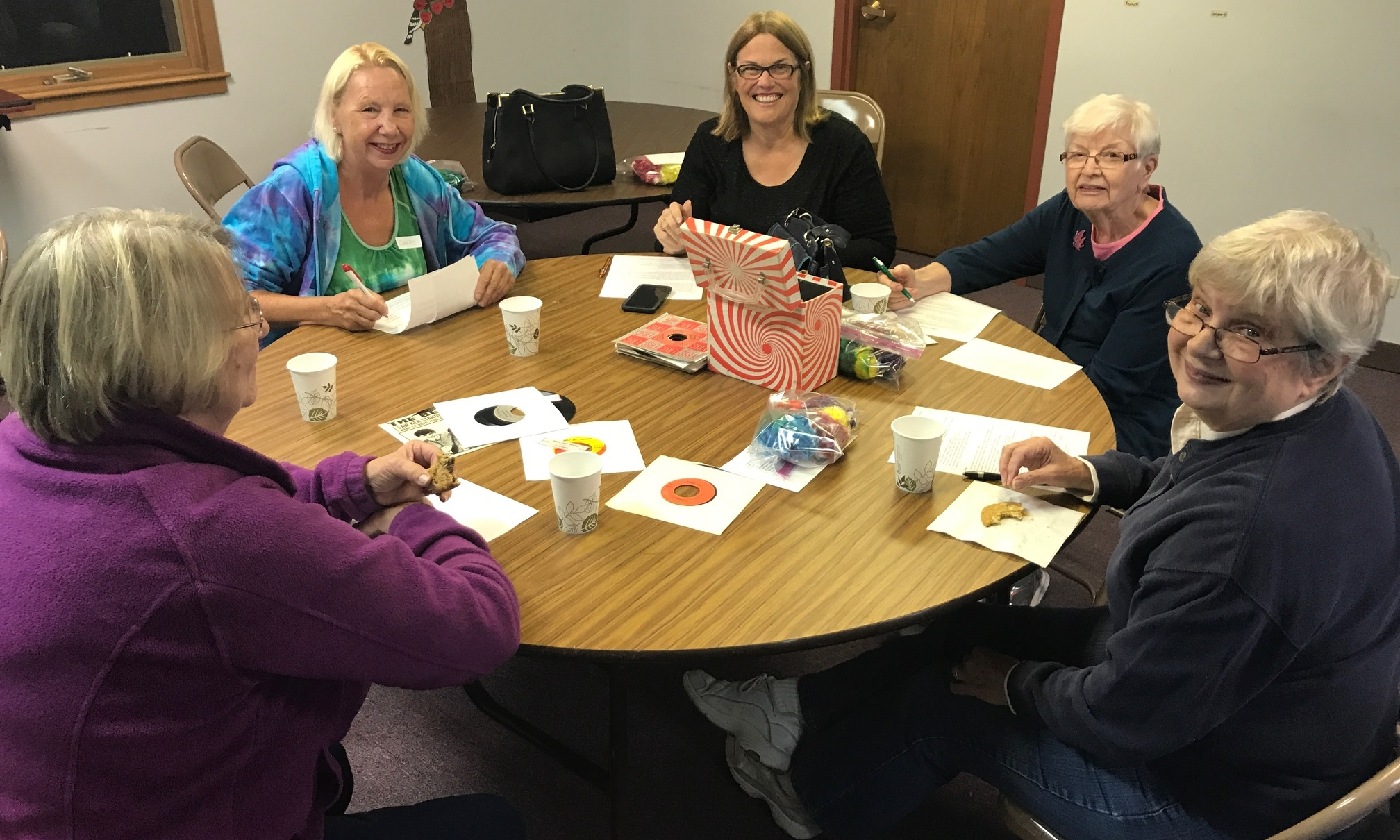 Book Groups  There are different book groups that meet throughout the year. You can email Pastor Josh to find out details about upcoming groups or stay tunned to the church newsletter as they are announced.  Contact  Clayton Edwards  for more info.