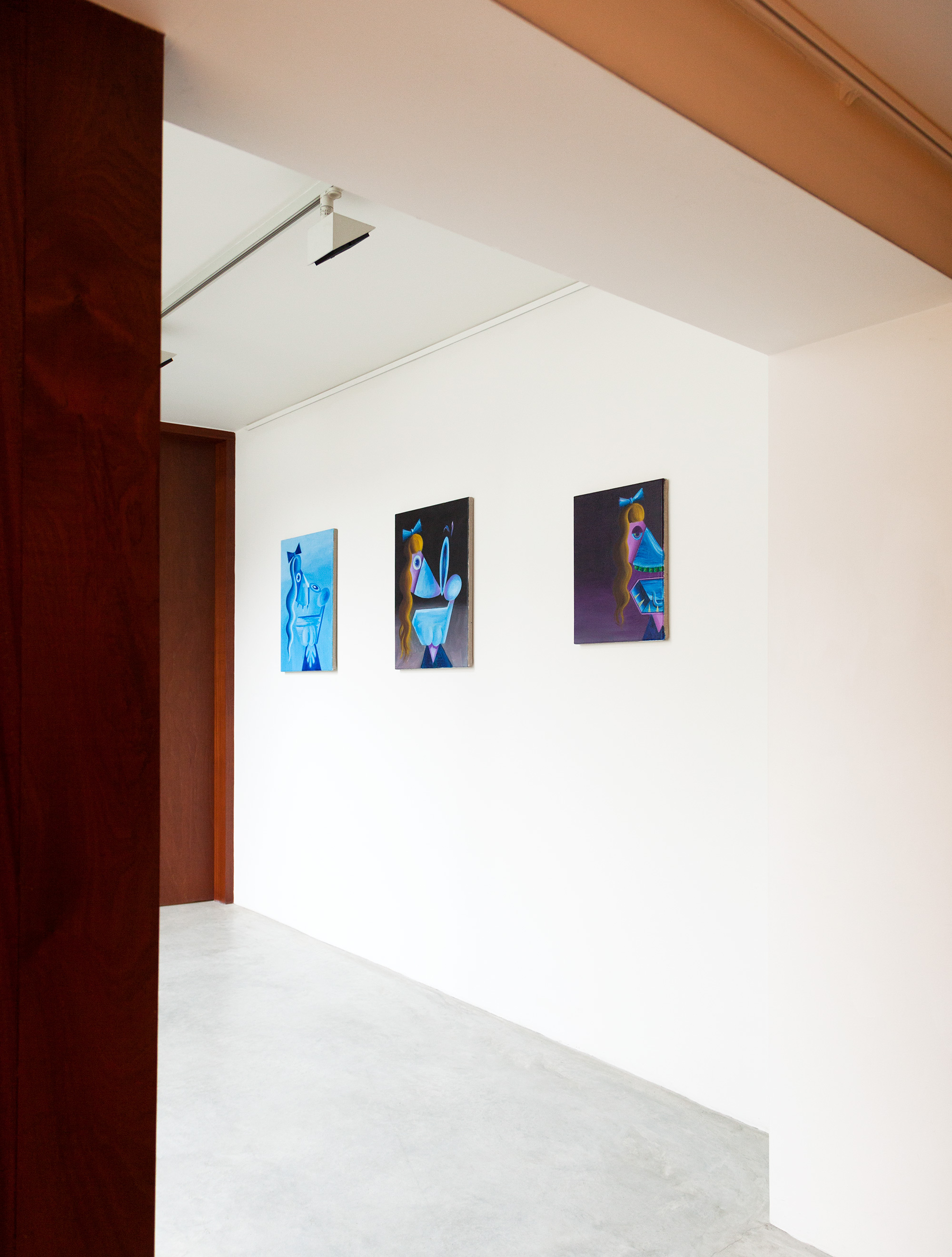 Installation Triplets Peter Von Kant Gallery