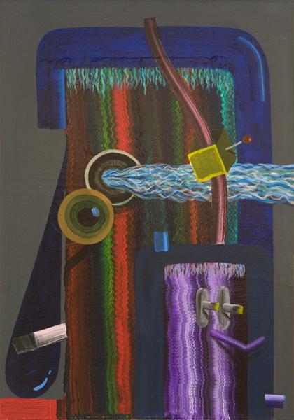 Automatons, 2010 Acrylic on linen. 35x24,5cm