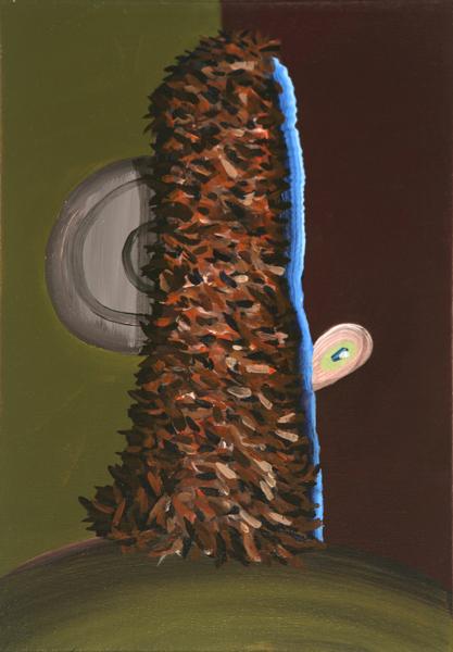Tímido (Cromático Descendente), 2009 Acrylic on linen. 35x24,5cm