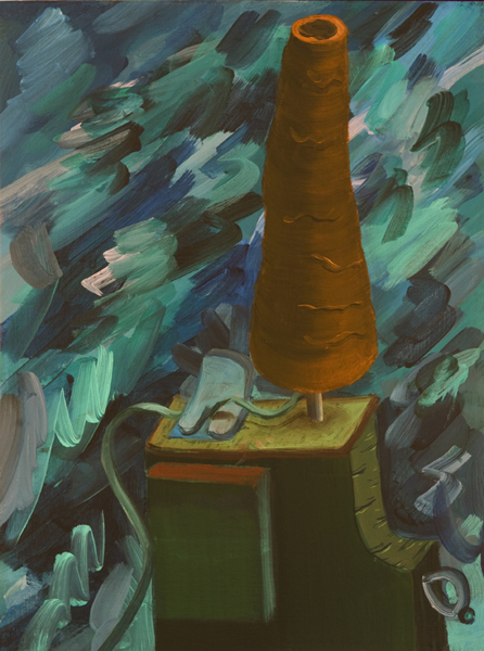 El Hilandero del Martirio, 2011 Acrylic on linen. 40,5x30cm
