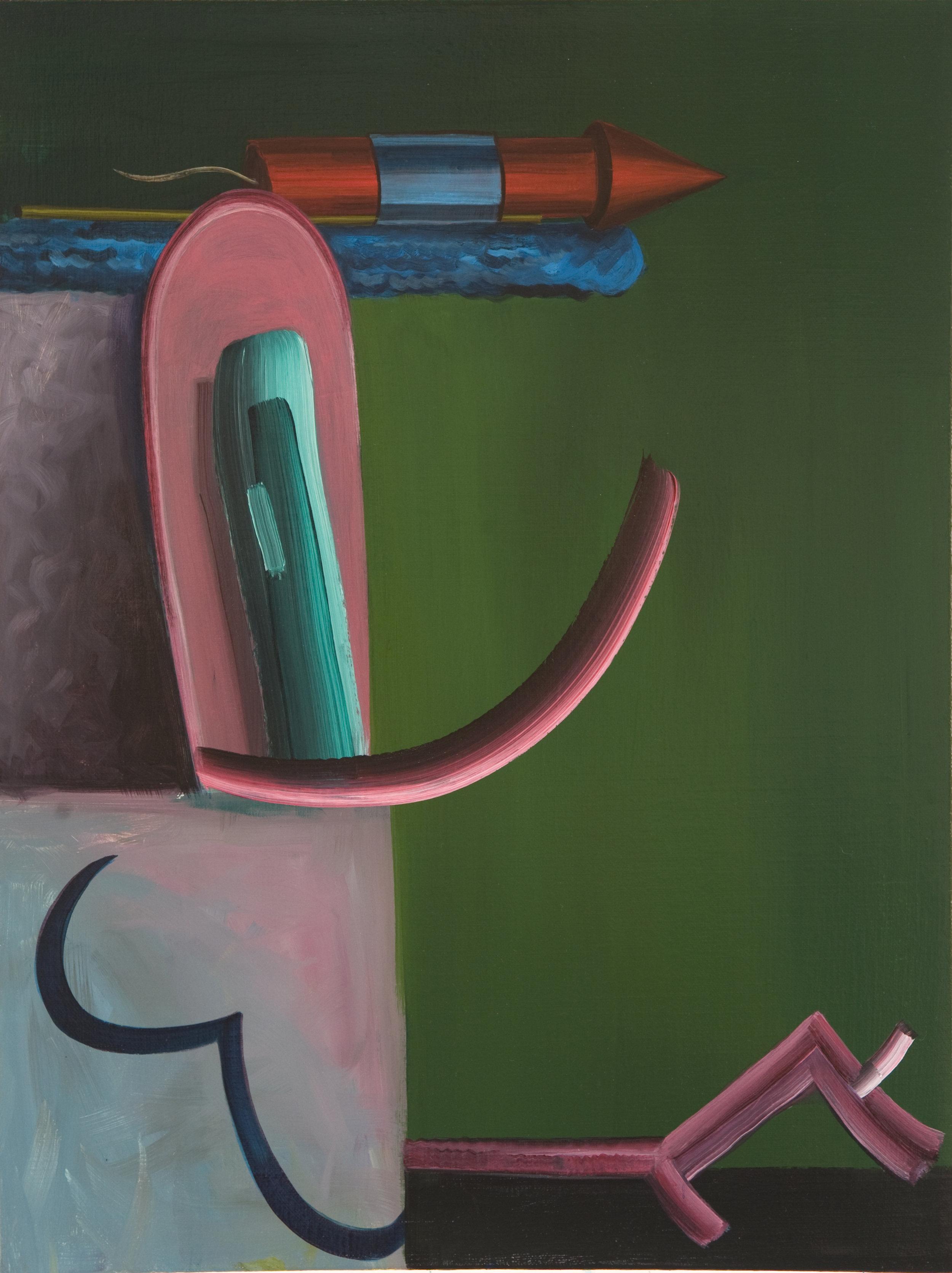 Untitled, 2011 Acrylic on linen. 59,5x44,5cm