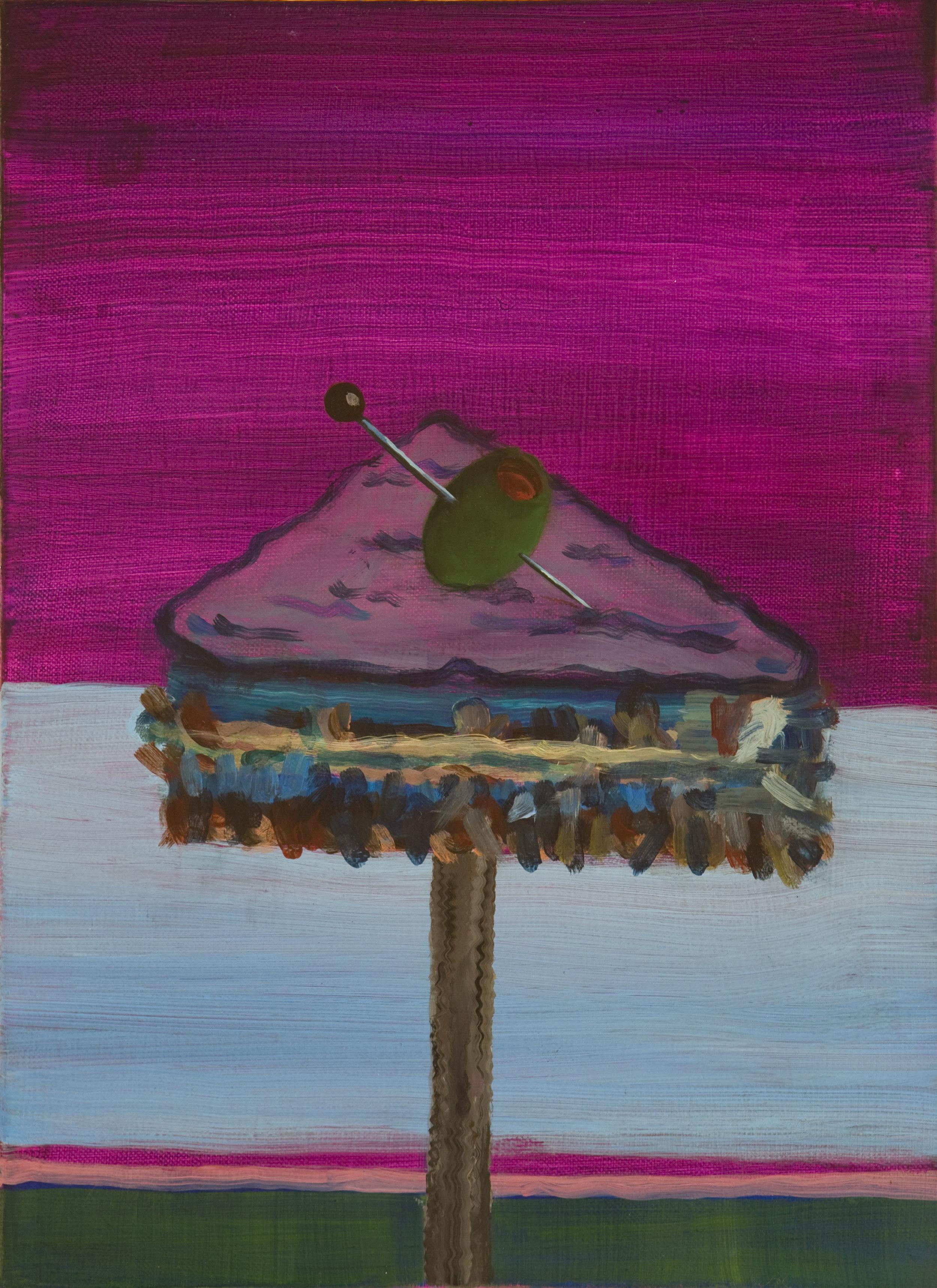 Contrapunto, 2011 Acrylic on linen. 40,5x30cm