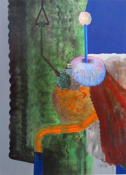 General Fatale, 2008 Acrylic on linen. 180x130cm