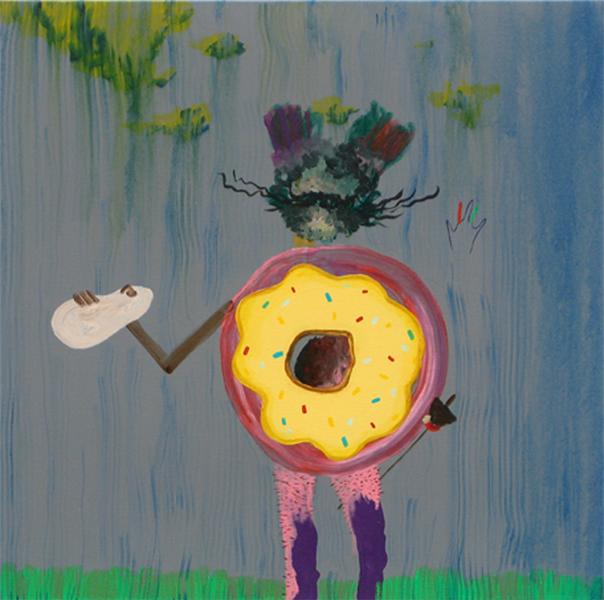 Quijotismos, 2008 60x60cm. Acrylic on canvas