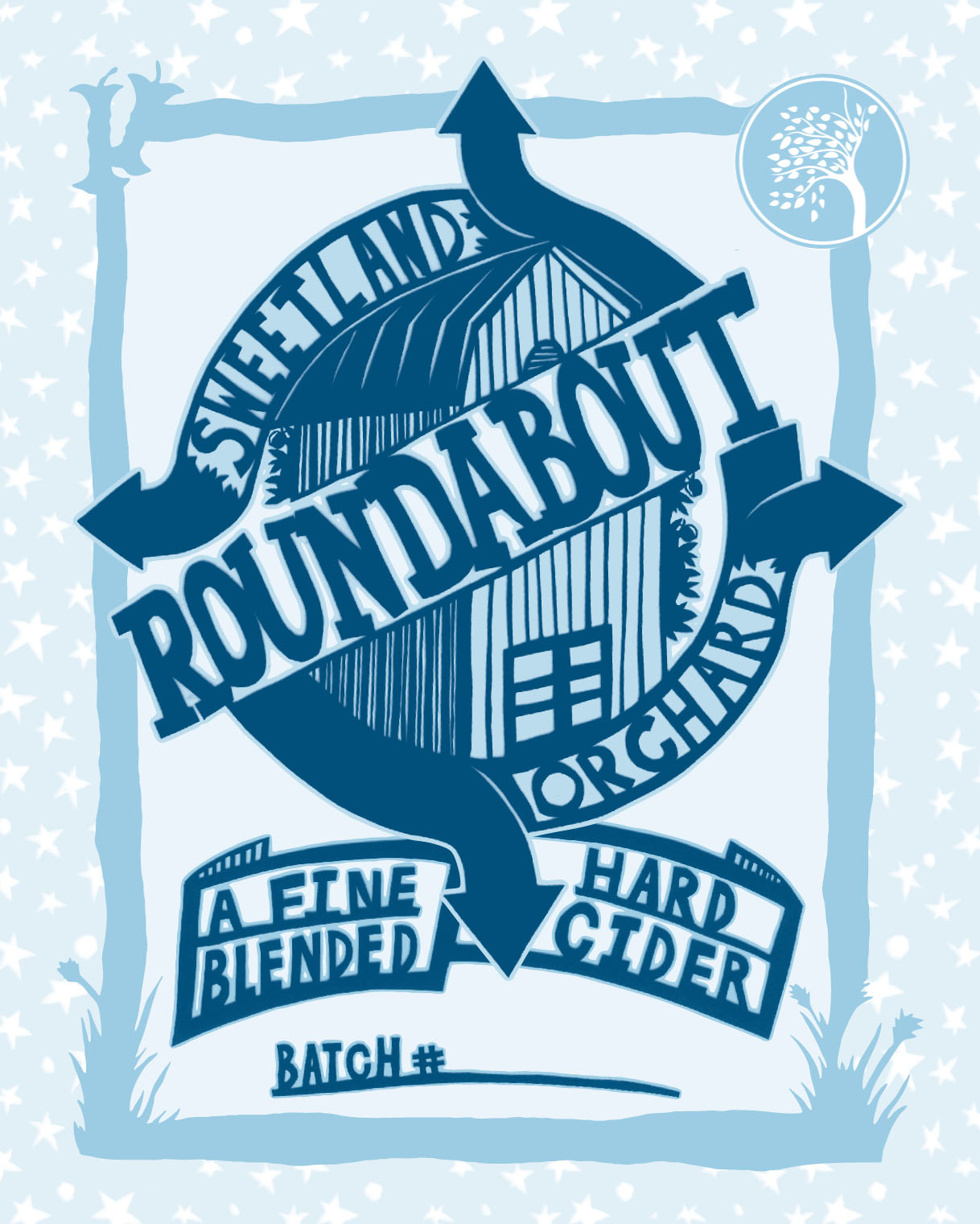 "Our Roundabout series was inspired by  Farnum Hill's ""Dooryard"" series ."