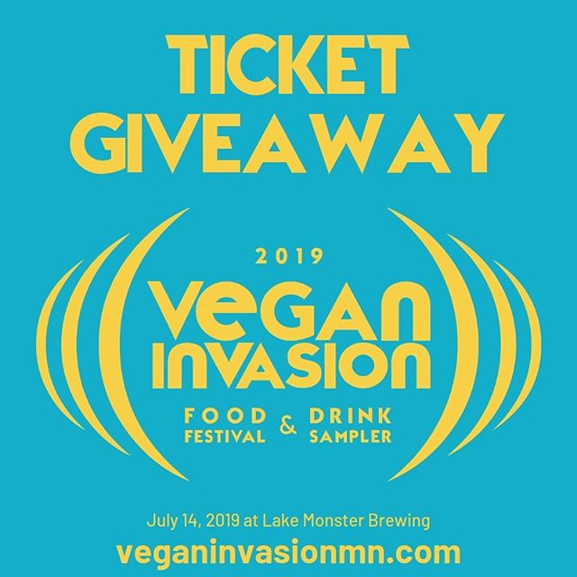 We have two @veganinvasionmn GA tickets to give to one lucky winner and that person could be you! The event takes place at @lakemonsterbrewing on Sunday, July 14. Here's how to enter: 1. Like this post 2. Follow @sweetlandorchard and @veganinvasionmn 3. Tag the one friend you want to bring. Contest ends at 11:59 pm on Friday, June 21. This giveaway is in no way sponsored, administered, or associated with Instagram. By entering, contestants agree to Instagram's terms of use. #veganinvasionmn Learn more at veganinvasionmn.com
