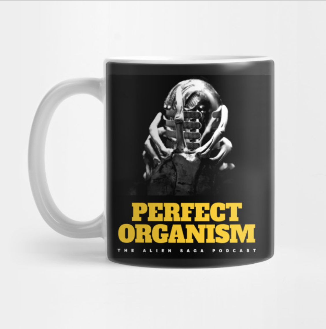 PERFECT ORGANISM MUG: $15/$12.75 Patrons