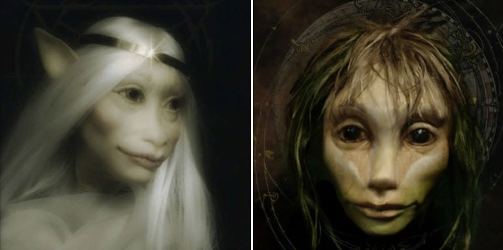 Puppets built for Power of the Dark Crystal