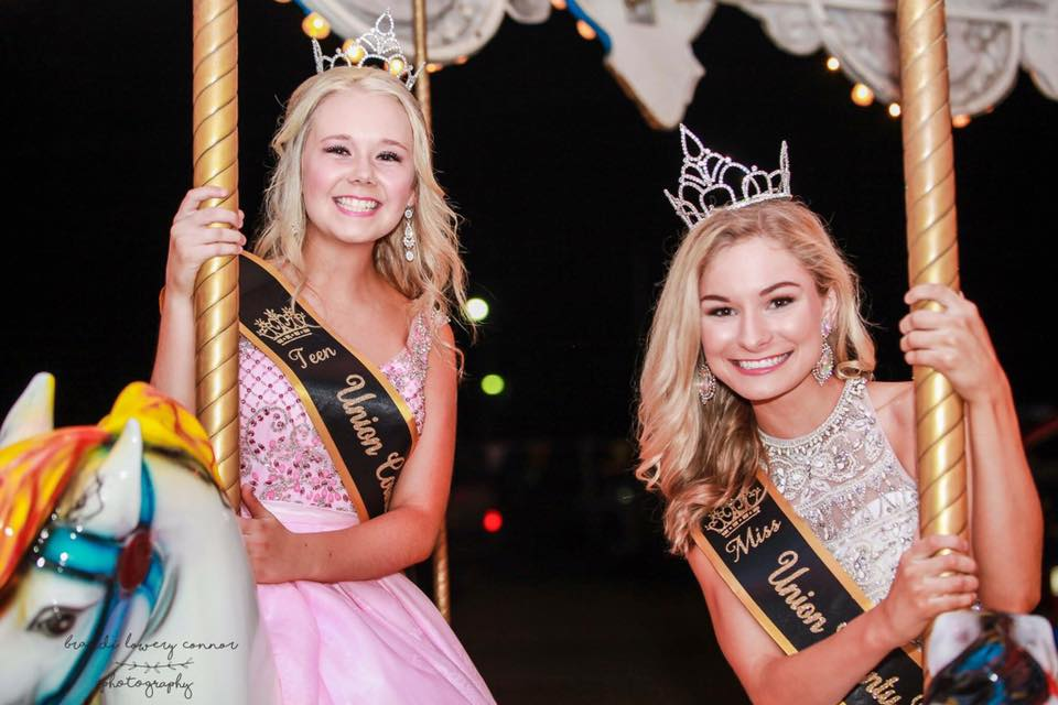 2017 Junior and Miss Union County Fair Queens