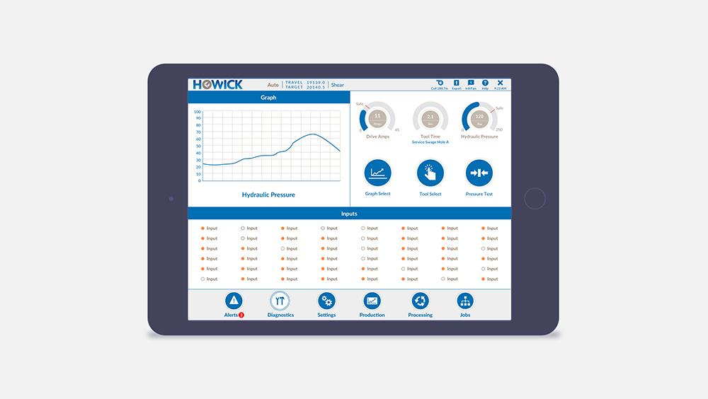 Client:  Howick | Software development:  Software Solutions Lab  | Designer: Parisa Shademan