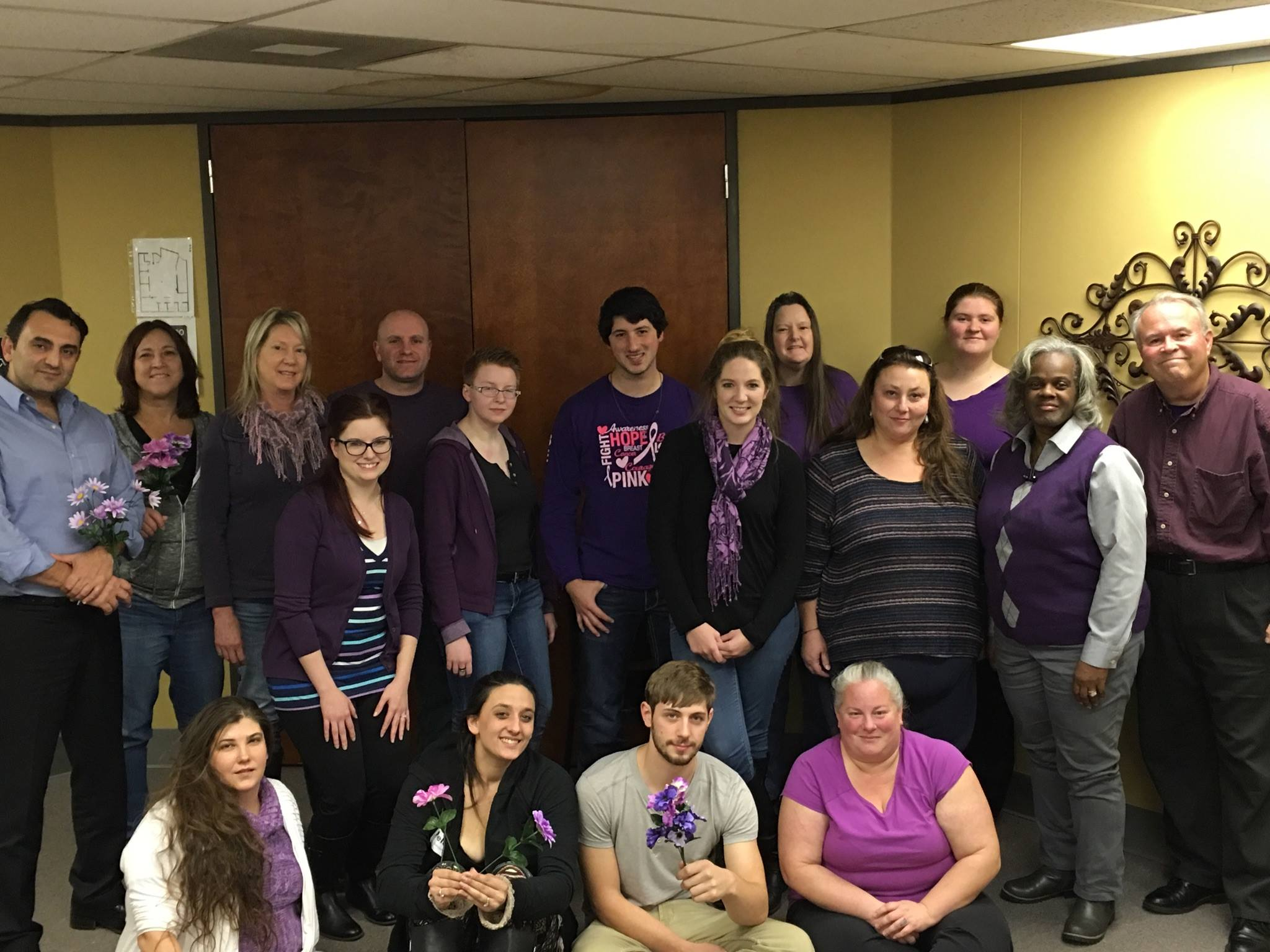 Our Team assembled for epilepsy awareness!
