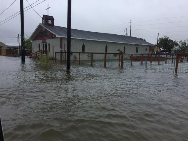 GUM Church after Hurricane Harvey
