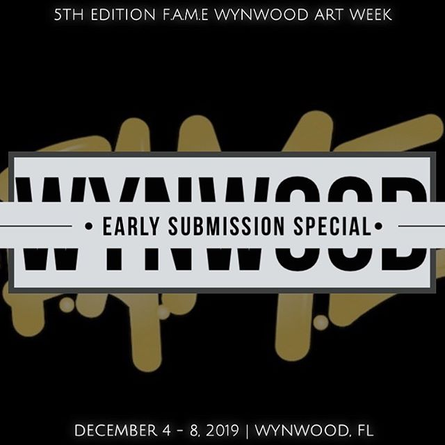 5th Edition F.A.M.E Wynwood Art Week  Gallery & Concept Store Pop up  December 4-8, 2019  Is OFFICIALLY open for Placement with an Early Submission Special for the First ( 15 ) Gallery and/or Concept Store Pop up Spaces.  #Sponsorship Opportunities also available.  #JoinTheTeam as #TEAMFAME is expanding in #Miami and #London  The Time is NOW !!! #fameworldwide #artbasel #wynwood #wynwoodartweek #artbaselmiami #famegallery #famegallerymiami #popupshop #fashion #art #music #experience #events #arte #artistsoninstagram #intern #internship #miami #london #uk #florida #students #entrepreneur #blessed #grateful #artfair #artevents