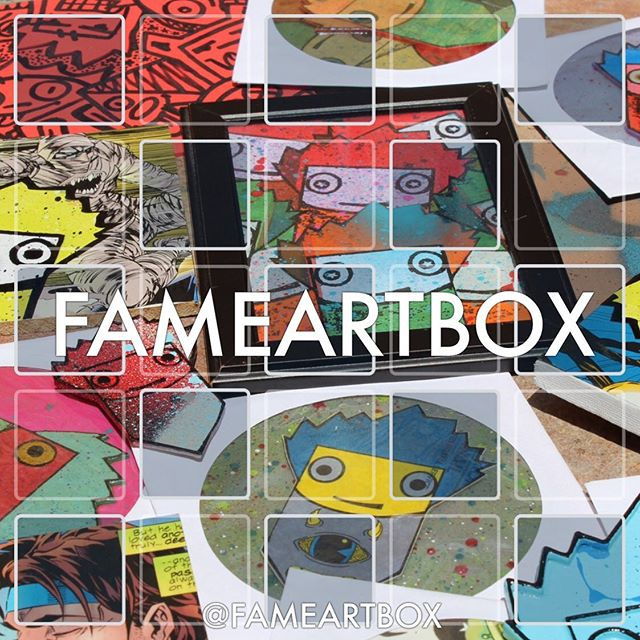 FAMEARTBOX.com is Officially LIVE FAME ART BOX NO.1 Features #LimitedEdition & #OneofaKind #Art by @whut213  @reddrunit  @chrishaven  @guavadeart + a @fame.worldwide Sticker Pack  ONLY 100 NO.1 📦 Created  You can either purchase the box or join our #monthlysubscription and Receive a New ART 📦 Each Month Featuring a New Set of #Creatives #Artist #Brands  Appreciate the #Support  #supportlivingartists #fameartbox #fameworldwide #fame #famegallerymiami #monthlysubscriptionbox #artbox #art #artistsoninstagram #supportsmallbusiness #supportyourfriends  Follow @FAMEARTBOX