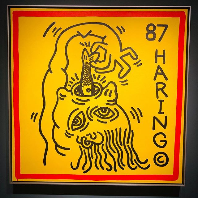 KEITH HARING at @artbasel 50th Edition Show in #baselswitzerland 📸 by @anais.mja  #fameworldwide #basel #artbasel #baselart #keithharing #haring #art #arte #artistsoninstagram #investment #investinart #investinartist #famegallerymiami