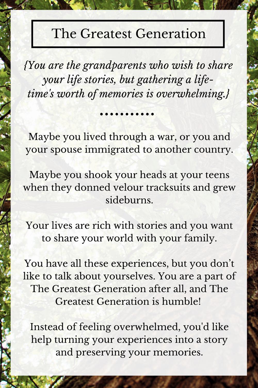 Grandparents Legacy book | Grandparent memory books | Family memory books | Personalized memory books | Rooted StoryAlbums