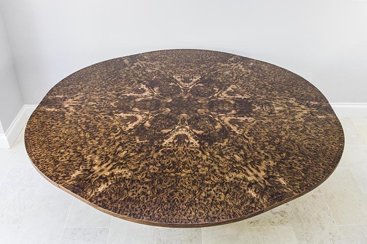 Brown oak expanding dining table 06.jpg
