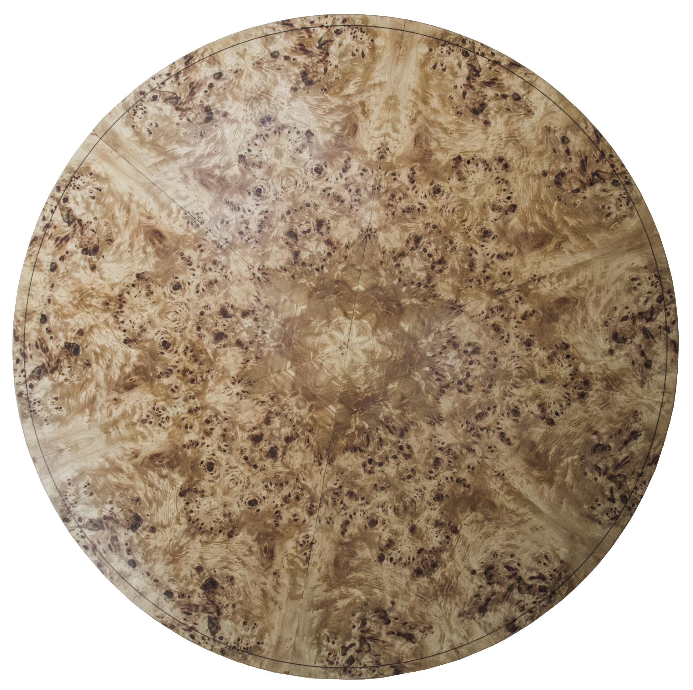 Johnson Furniture - Burr poplar and elm dining table 05.jpg