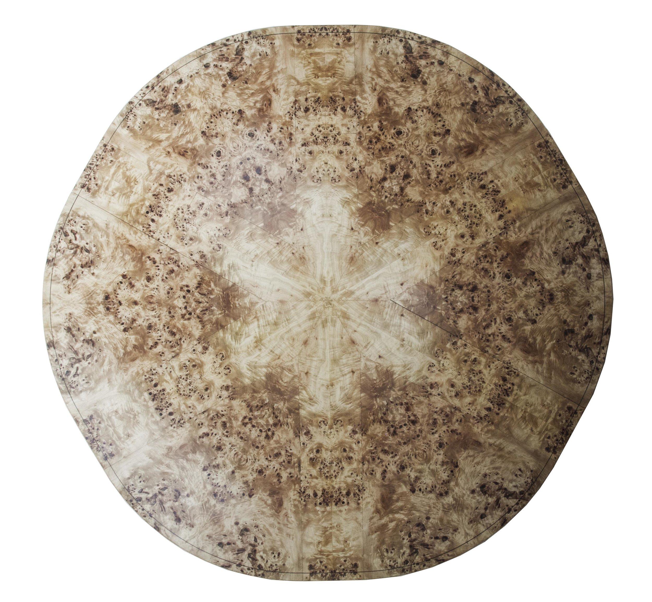 Johnson Furniture - Burr poplar and elm dining table 06.jpg