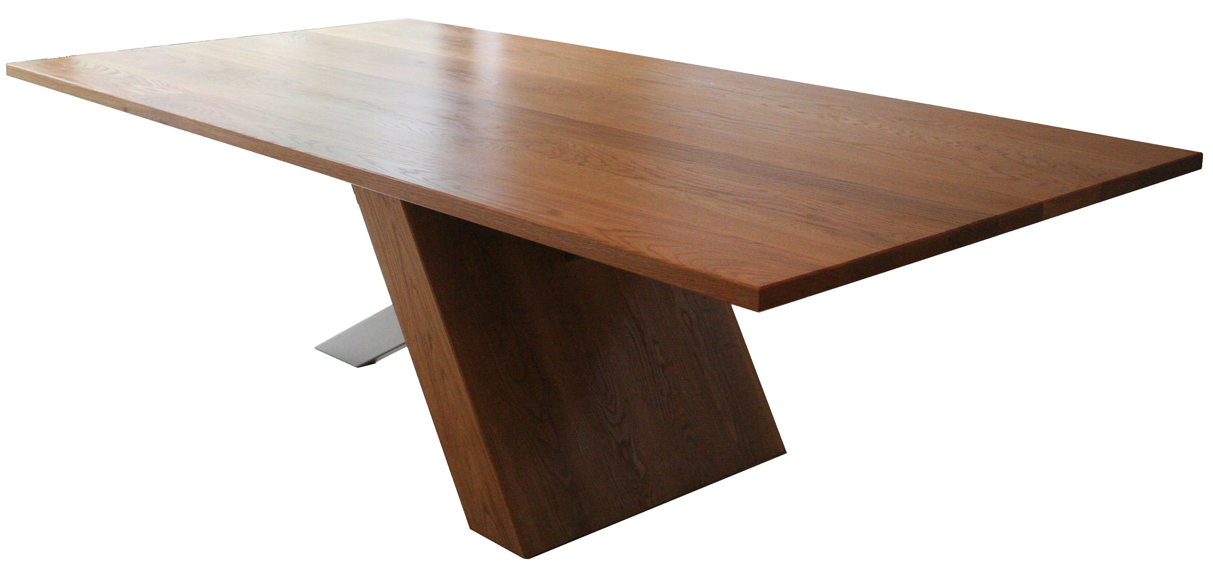 Dining Table in oak and steel