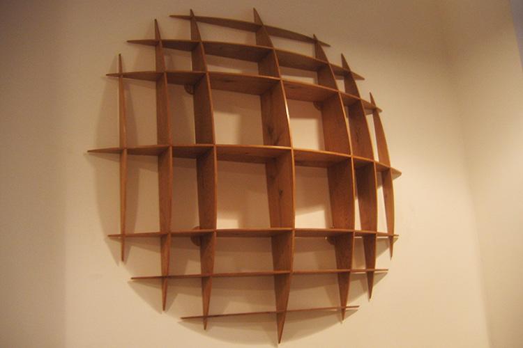 Circular Wall Shelf