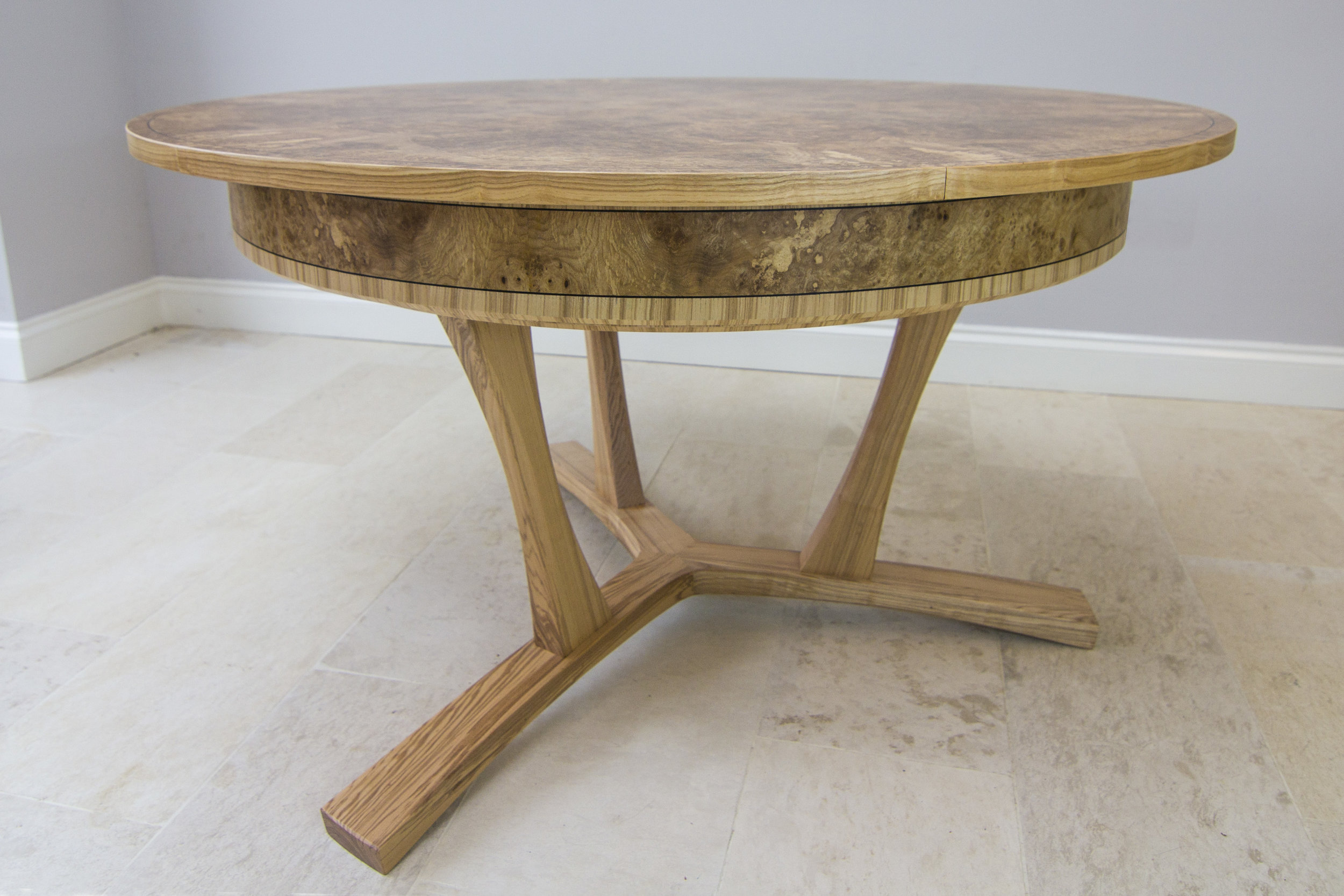 Burr ash expanding dining table 02.jpg