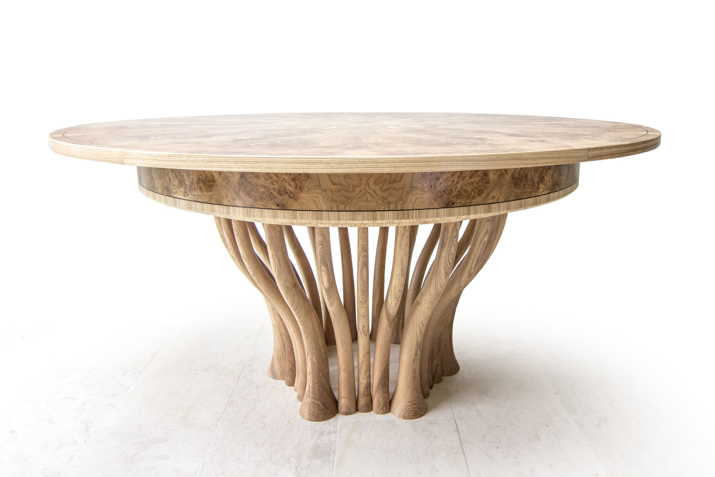 Olive Ash dining table 1500mm to 1900mm 01.jpg