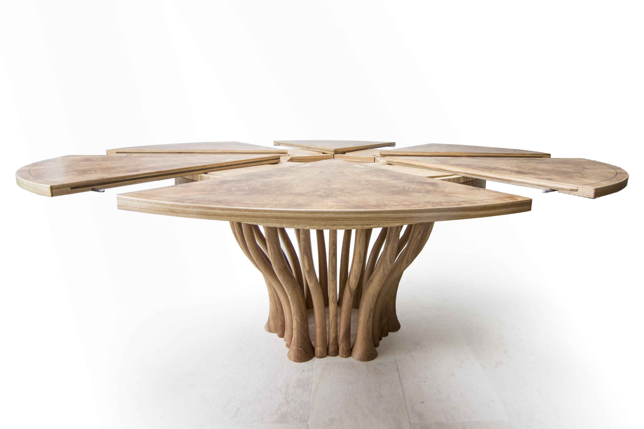 Olive Ash dining table 1500mm to 1900mm 02.jpg