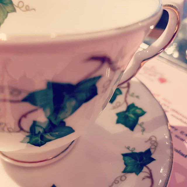 We wouldn't serve tea in anything else...