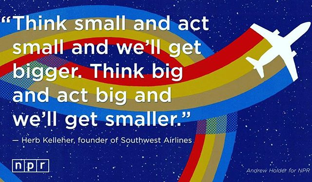 Required reading for all you big brands and aspiring category leaders.  #facts #fortune500 #southwest #southwestairlines