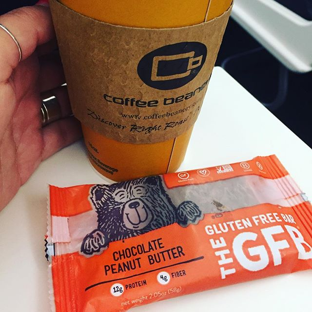 @thegfb Bear sighting aboard a plane from DET to LAX ✈️. Proud papa bear of this 2017 redesign 🐻