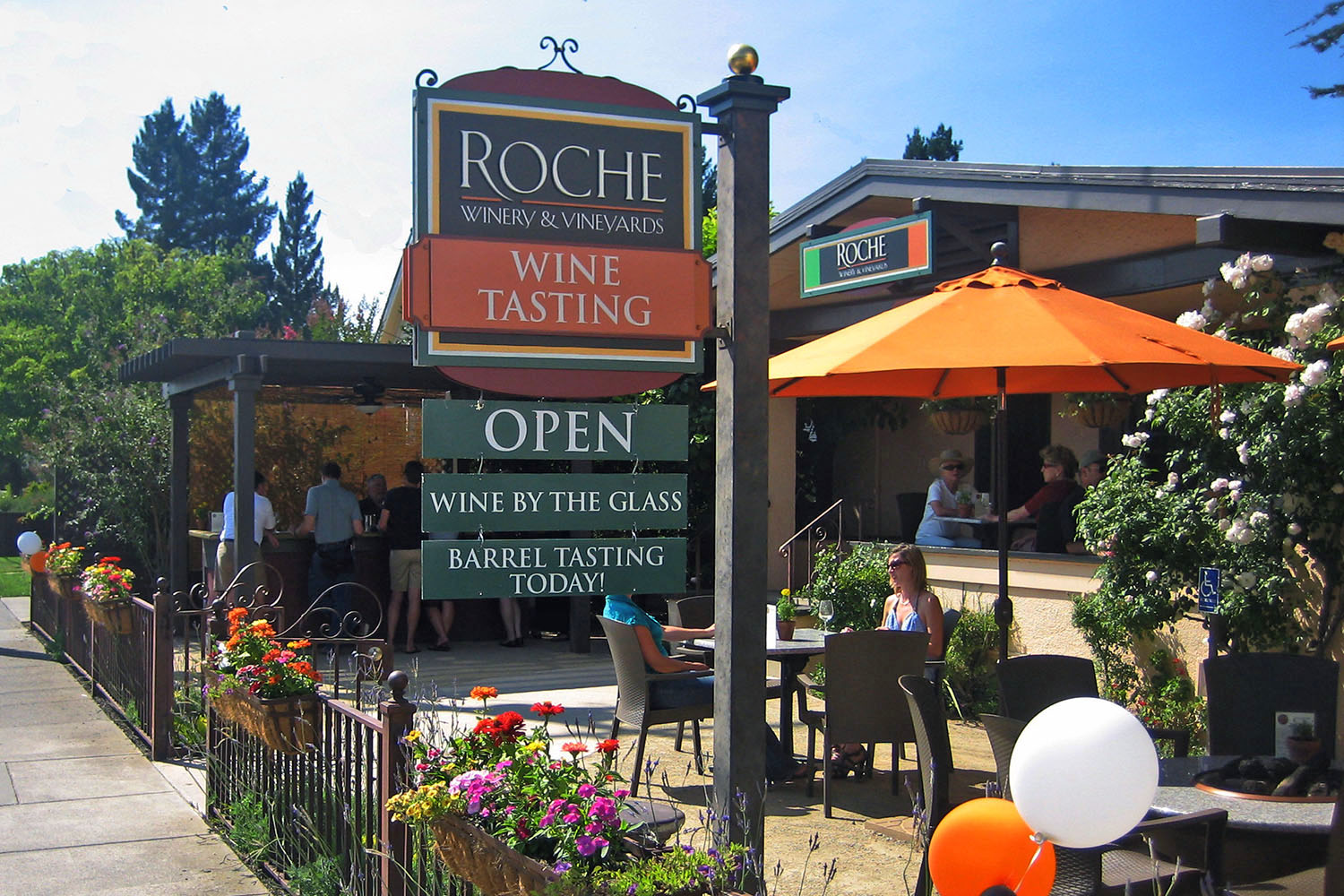 Tasting Room during the day