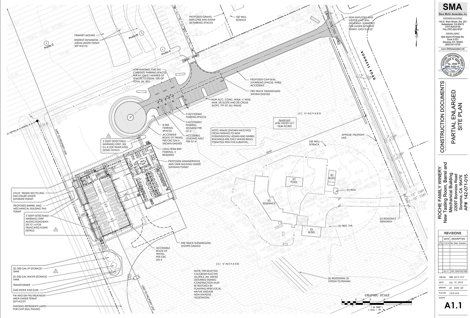 New Winery site plan