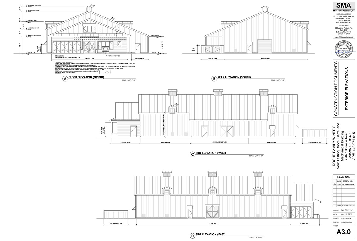 Preliminary plans are for both buildings combined to make up approximately 17,000 square feet in size and to offer a capacity of 30,000 cases to be produced on site annually
