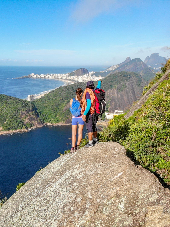 Pedra Filosofal on the Sugarloaf Mountain in Rio de Janeiro, Brazil