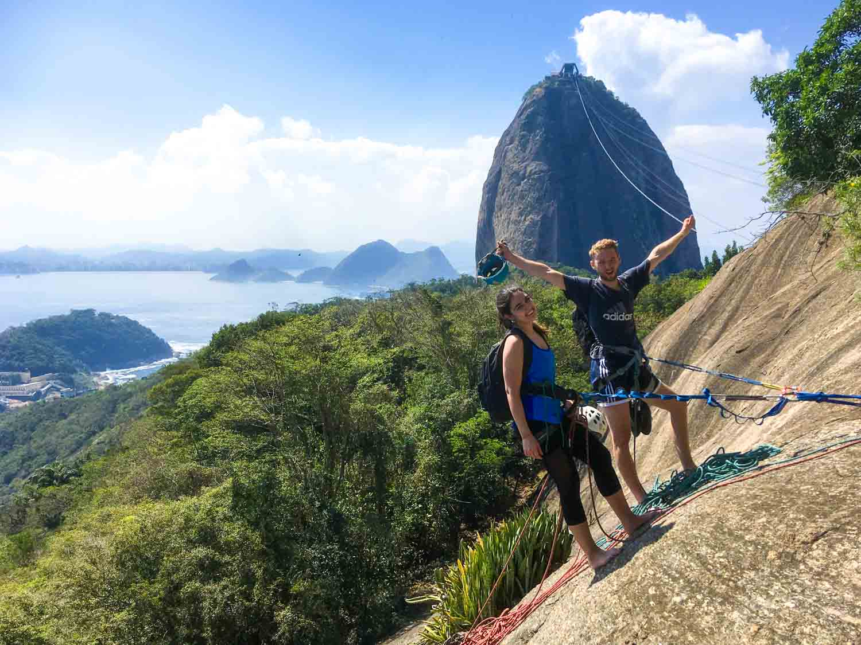 Climb Morro da Urca