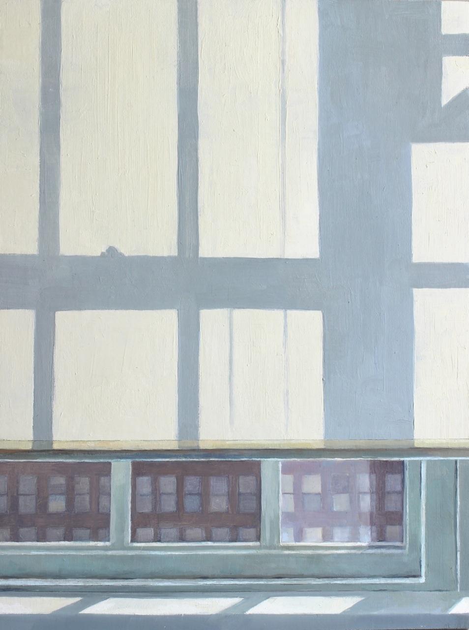 "Summer Window in the Studio   Oil on Wood  14"" x 11"""